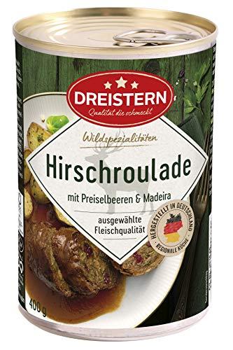 DREISTERN Hirschroulade, 400 g