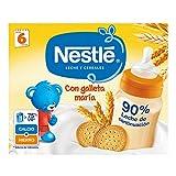 Nestlé Leche y Cereales galleta, Alimento Para bebés - 2 unidades de 250 ml