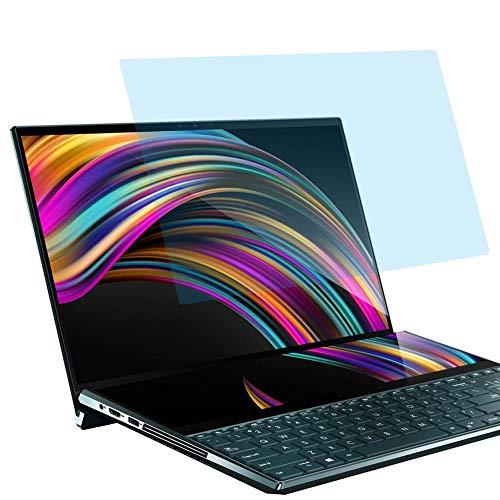 """Vaxson Anti Luce Blu Vetro Temperato Pellicola Protettiva, compatibile con ASUS ZenBook Pro Duo UX581LV 15.6"""" [Coprire Solo l'area Attiva] 9H Screen Protector Film"""