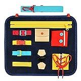 Teaisiy Jouet Enfant 1-4 Ans , Jeux Enfants Bebe 10-18 Mois Busy Board Jeux Montessori 1-4 Ans Jouet Fille 1-4 Ans Cadeaux Garcon 1-4 Ans Jouet Garcon 1-4 Ans Fille Jeux Bebe 10-18 Mois Jeu Montessori
