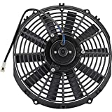 Speedway Motors 6 Volt Electric Radiator Cooling Fan-12 Inch Dia. Push/Pull-10 Blade
