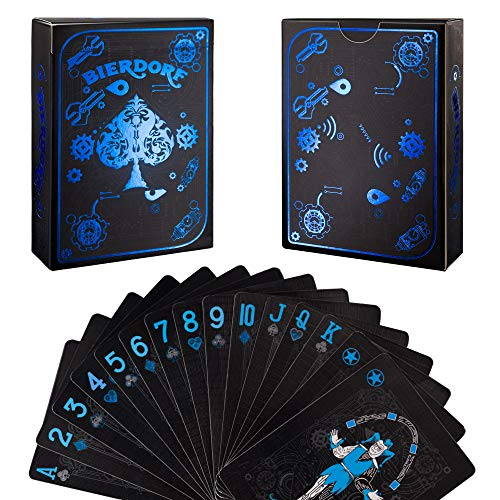 BIERDORF Cool Playing Cards, Deck of Playing Cards, Premium Poker Cards, Unique Color Cards for Kids & Adults, Use for Gifts, Greeting Card, Magic Trick, Party and Game