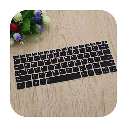for Lenovo Ideapad C340-15Iil C340-15Iwl C340 15Iil 15Iwl 15 15.6 Inch C340-15 (No Number Key) Laptop Keyboard Cover-Black-