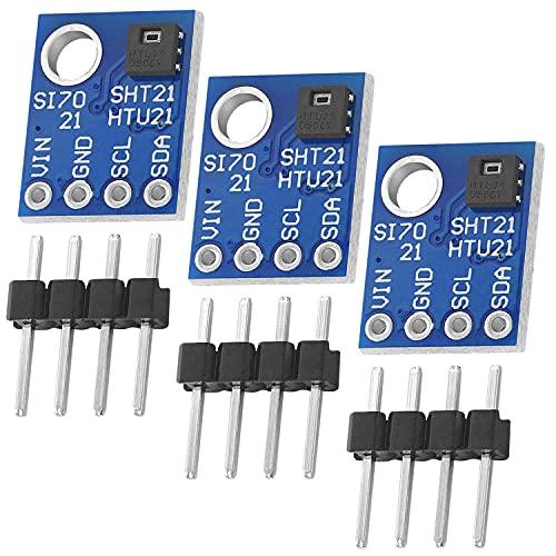AZDelivery 3 x GY-21 HTU21 Sensor de humedad y temperatura con E-Book incluido!