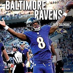 Baltimore Ravens 2020 Calendar