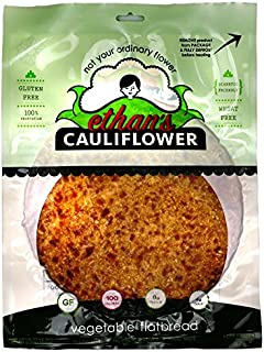 We offer a bundle of 5, of Ethan's Cauliflower Vegetable Flatbread Pizza Crust (5 crust) Diabetic Friendly Gluten Free