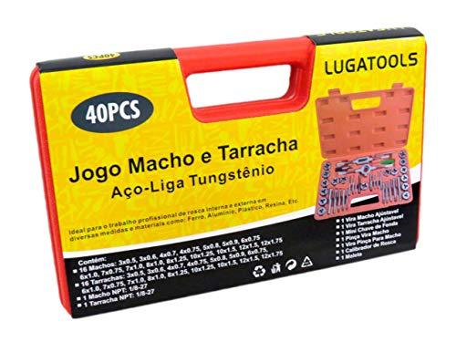 Jogo de Macho e Femeá Tarraxa Cossinete abre rosca em Aço-Liga Tungstênio