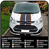 Custom Sports Van Graphics Van Sticker Aufkleber Van Camper Vans Bicolor (SCHWARZ (WISSE Rand))