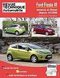 E.T.A.I - Revue Technique Automobile B742.5 - FORD FIESTA VI PHASE 1 - 2008 à 2012