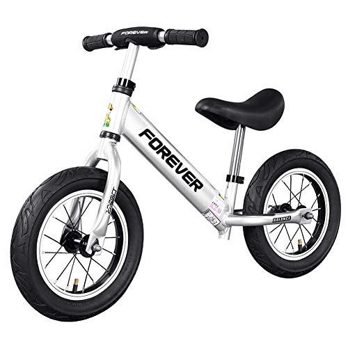 CPY-EX Kinder Balancen-Fahrrad, Fahrrad 1-6 Jahre alt Scooter, Geeignet für Kinder, Männer, Frauen, Babys und Kinder, Rutschen Zwei Räder ohne Pedale, Aluminium-Legierung Spokes, aufblasbare Räder,B