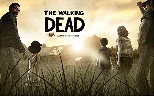 The Most Exciting Game Poster Walking Dead Game Canvas Poster Print
