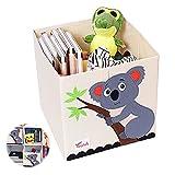 Caja para Juguetes Infantil,Caja de Juguetes Caja de almacenamiento para Niños,para Juguetes Infantiles, Decoración de ropa Caja Almacenaje Infantil (C)