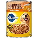 PEDIGREE Chopped Ground Dinner With Chicken Canned Dog Food 22 Ounces (Pack of 12)