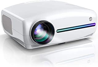 VIVIMAGE Explore 3 Native 1920 x 1080P Projector, 6000 Lux Full HD LCD Led Home Theater Video Projector Compatible with TV Stick, HDMI, VGA, USB, Smartphone, PC, TV Box, PS4