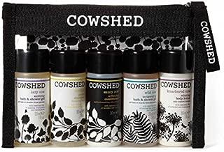 Pocket Cow Bath & Body Set: Shampoo + Conditioner + Soothing Shower Gel + Invigorating Shower Gel + Body Lotion + Ba