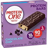 Protein One 90 Calorie Protein Bars, Chocolate Chip (Pack of 12)