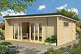 Lasita Maja Gartenhaus Java I Wandstärke 44 mm