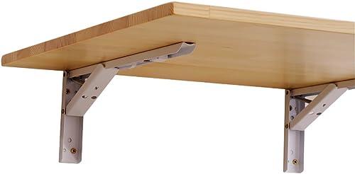 Table D'appoint Pliante Murale en Bois Massif pour Table D'appoint Table D'ordinateur Table à Manger étagère Murale (Taille   70  50cm)