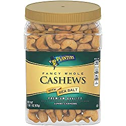 Image of Planters Salted Whole Cashews (33 oz Container): Bestviewsreviews