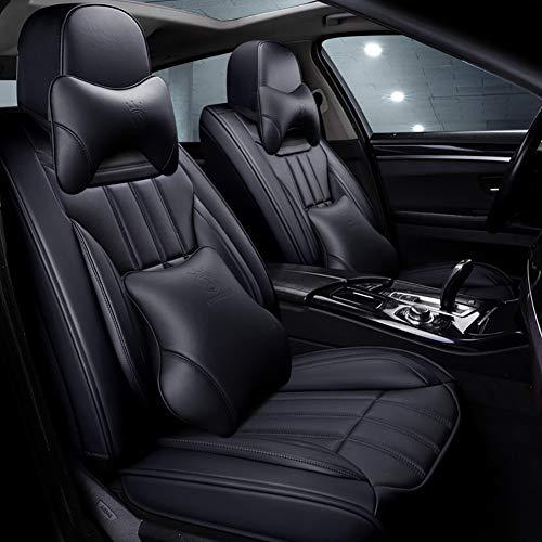 Noire Sitzbezüge pour toutes les Peugeot voitures Siège-auto référence sur le devant