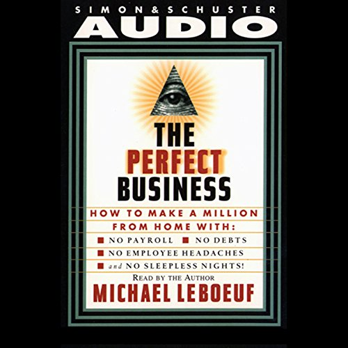 Perfect Business  audiobook cover art