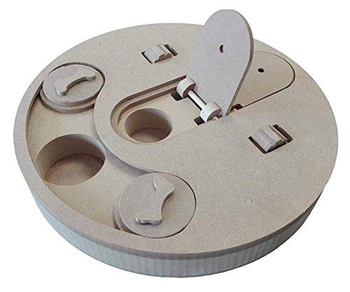 PETGARD Hundespielzeug Strategiespiel für Hunde interaktives Spielzeug Dog MENTAL Toy Disk
