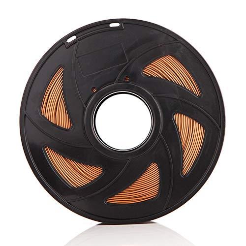 LHF Printing Filament For 3D Printer & 3D Pens,Dimensional Accuracy +/- 0.02 Mm,1KG Filament PLA,1.75mm 3D Printer Filament Copper 1.75 Pla