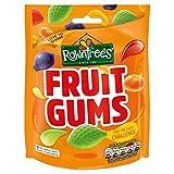 Rowntree Fruit Gums, 150 g / 5.3 oz Bag (Pack of 3)