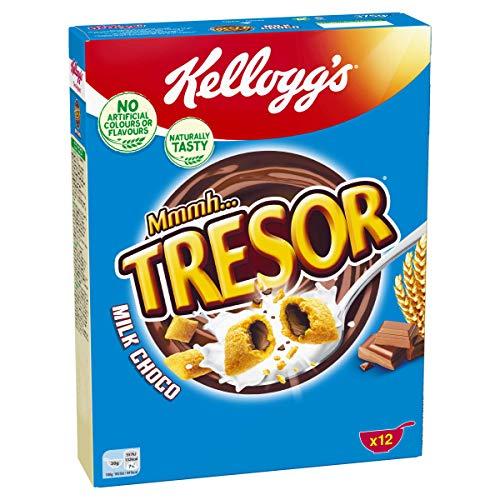 Kellogg's Mmmh Tresor Milk Choco, 7er Pack (7 x 375 g)