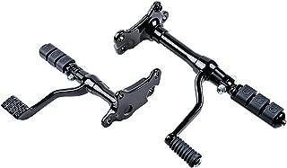 Black Forward Controls Kit for 1995-1997 2001-2003 Harley Sportster XL 883 1200