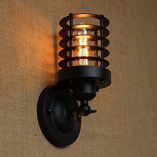 Wandspots Wandlamp Industriële Portugese Stijl Antiek Zwart Mini Wandlamp/Swing arm Wandverlichting voor Werkkamer/Badkamer Vanity Tornado