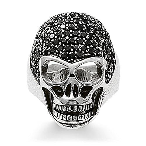 THOMAS SABO plata de ley 925 plata de ley (925) negro Cubic Zirconia
