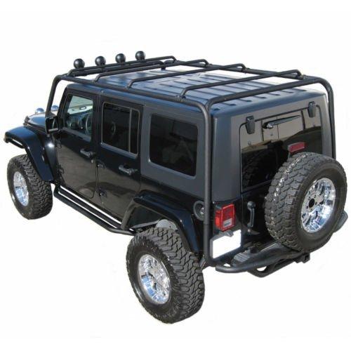Roof Rack for Jeep Wrangler: Amazon com