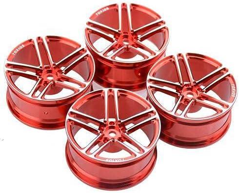 4PCS 1 10 Rock Max 75% OFF Crawler Model Ranking TOP2 Alloy Wheel Aluminum D52mm Car Hub