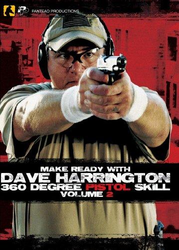 Panteao Productions: Make Ready with Dave Harrington 360 Degree Pistol Skill Vol 2 - PMR002 - SOF -...