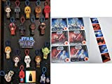 McDs McDonald's 2019 Star Wars - Complete Set of 16 + 12 Stickers