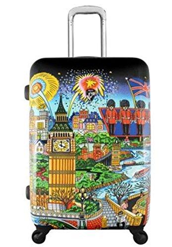 Equipaje, Maletas y Bolsas de Viaje - Premium Designer Maleta Rígida - Heys Artista Fazzino London Trolley con 4 Ruedas Media