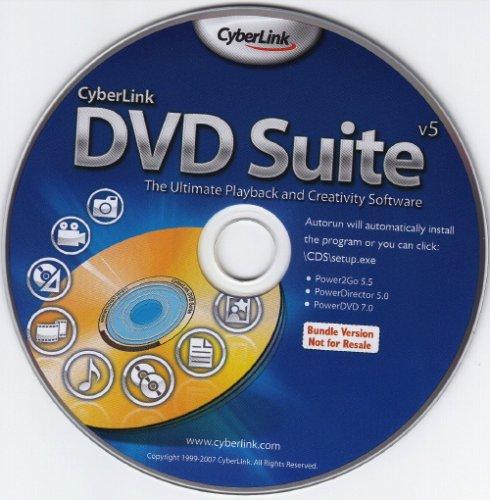 Cyberlink DVD Suite 5 - OEM (Power2Go 5.5, PowerDirector 5.0, PowerDVD 7.0)