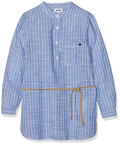 Mexx Mädchen Kleid, Blau (Blue Striped 300026), (Herstellergröße: 116)