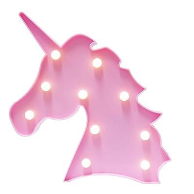 Unicorn Gifts Light Unicornio Party Supplies