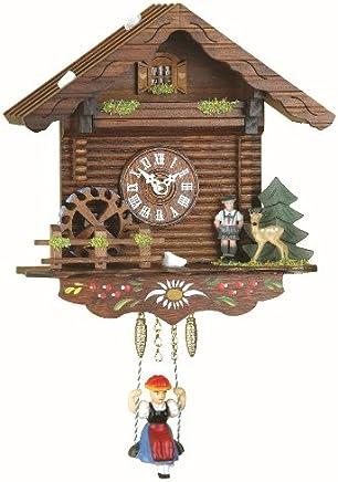 Trenkle Kuckulino Pendulette en Miniature de la For/êt Noire Maison de la For/êt-Noire Maison Suisse avec Mouvement Quartz et Chant du Coucou TU 2021 SQ