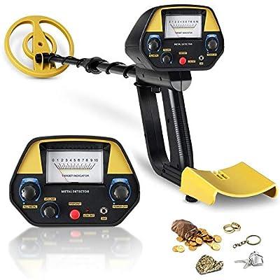INTEY Metal Detector - Sensitivity  Volume Adju...