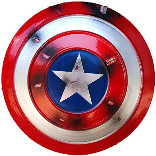 BCCDP Scudo Capitan America Capitan America Costume Giochi di Ruolo di Captain America Serie Falcon e Winter Soldier Avengers Marvel Prop Giocattolo Replica Serie Legends,47.5cm
