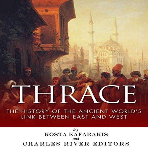 Thrace audiobook cover art