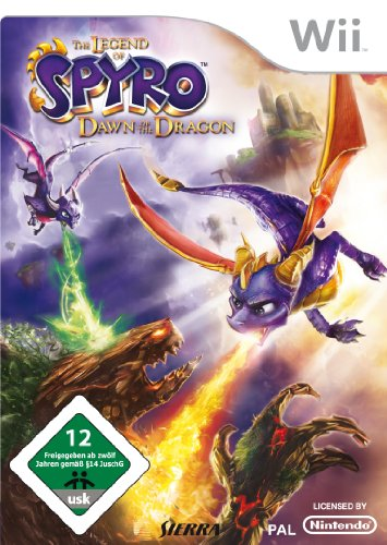 Vivendi  The Legend of Spyro: Dawn of the Dragon, Wii