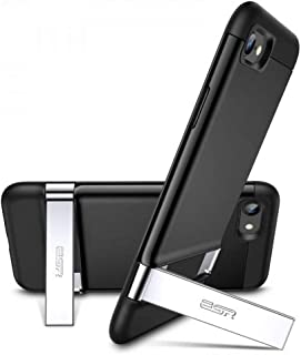 كفر ايفون SE موديل 2020 اير شيلد بوست مع ستاند من iOS اسود