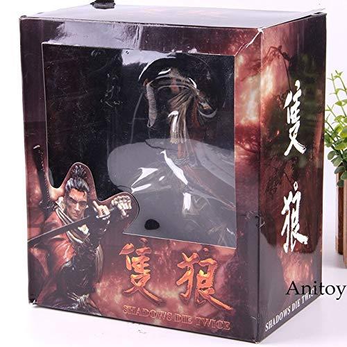 Shadows Die Twice Game Figure Shinobi Sekiro Collector's Edition Shinobi Action Figure Modello da Collezione Toy, con Scatola al Minuto