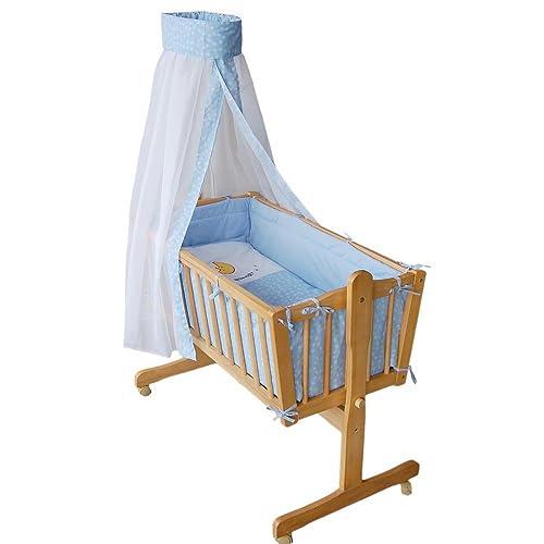 Honey Bee – Completa mecedora, cama, cuna para bebés - azul - 51365-01
