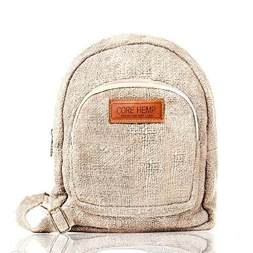 Core Hemp Mini Rucksack Gr. Einheitsgröße, natur
