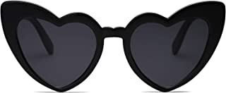SOJOS Heart Shaped Sunglasses Clout Goggle Vintage Cat Eye Mod Style Retro Glasses Kurt Cobain